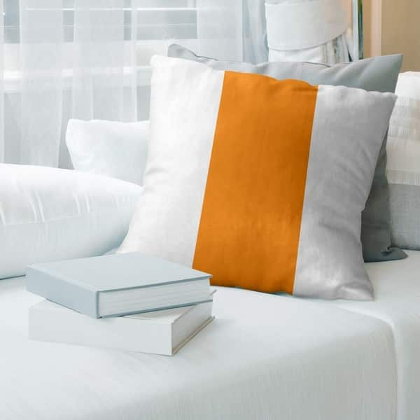 Shop Tampa Bay Tampa Bay Throwback Football Stripes Pillow Indoor Outdoor Overstock 30285962