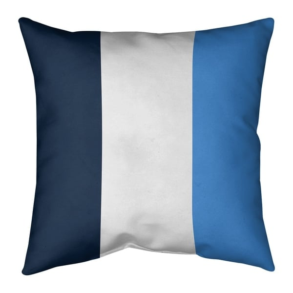 Tennessee Tennessee Football Stripes Pillow (Indoor/Outdoor)
