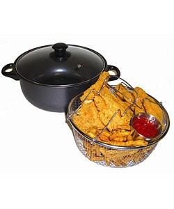 Carbon Steel Nonstick 4-quart Deep Fryer