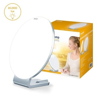 Beurer Light Therapy Lamp SAD Lamp with Natural Bright Sun Light for Seasonal Depression and Vitamin D, TL50