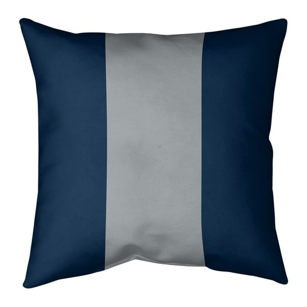 Seattle Seattle Football Stripes Pillow (Indoor/Outdoor)