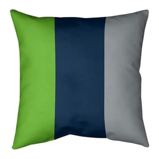 Seattle Seattle Football Stripes Floor Pillow - Standard