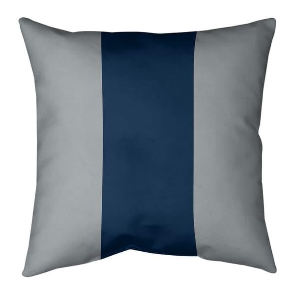 Seattle Seattle Football Stripes Pillow-Spun Polyester