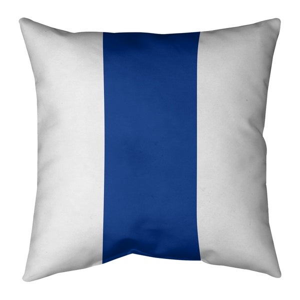 Seattle Seattle Throwback Football Stripes Pillow (Indoor/Outdoor)