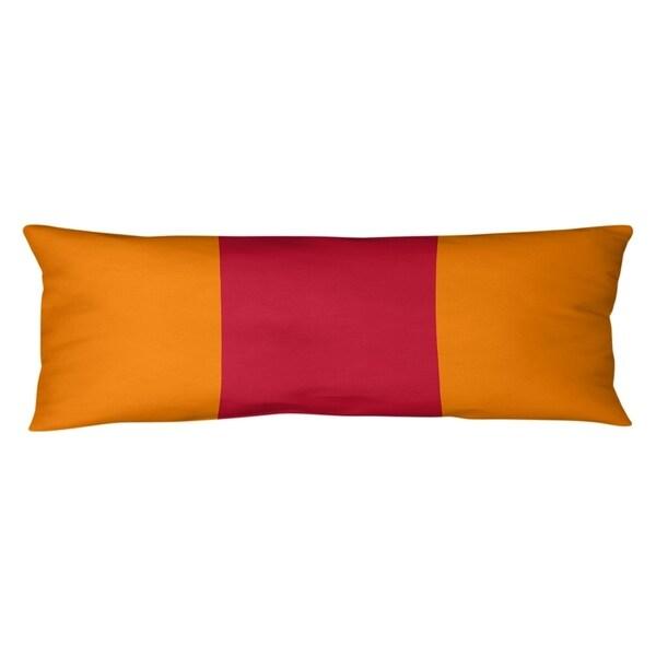 Tampa Bay Tampa Bay Throwback Football Stripes Body Pillow (w/Rmv Insert)