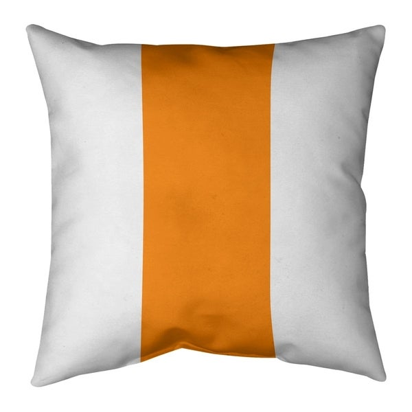 Tampa Bay Tampa Bay Throwback Football Stripes Pillow-Cotton Twill
