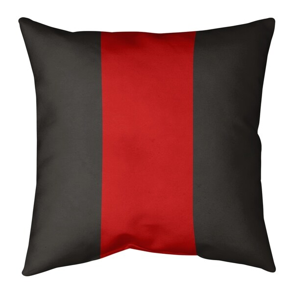 Tampa Bay Tampa Bay Football Stripes Pillow-Spun Polyester