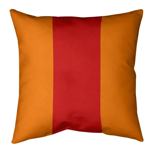 Tampa Bay Tampa Bay Football Stripes Pillow-Cotton Twill
