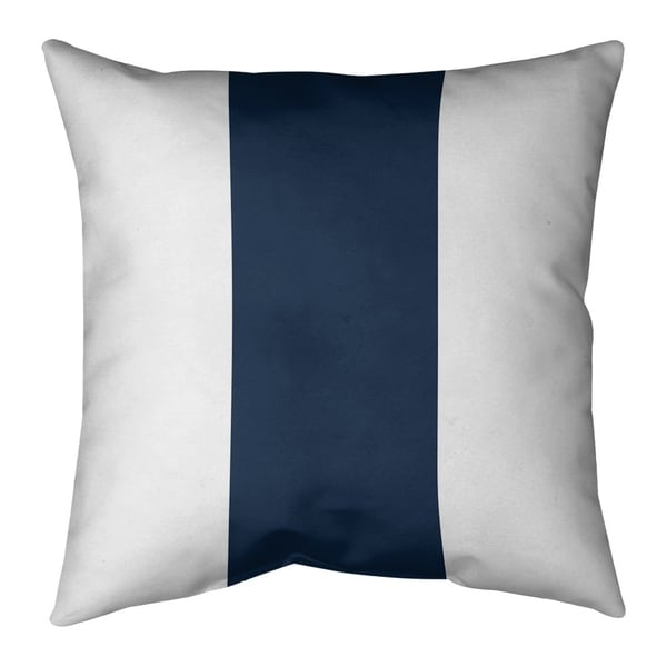 Tennessee Tennessee Football Stripes Pillow (w/Rmv Insert)-Spun Poly