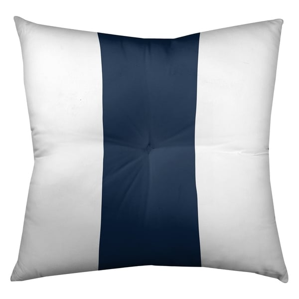 Tennessee Tennessee Football Stripes Floor Pillow - Square Tufted