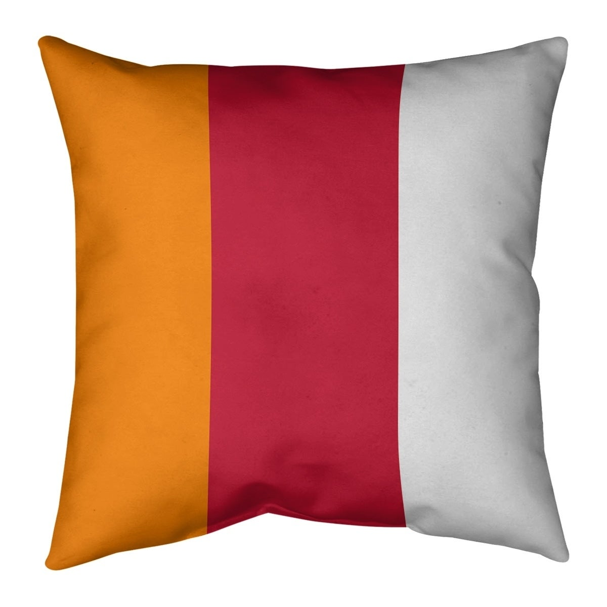 Tampa Bay Tampa Bay Throwback Football Stripes Floor Pillow Standard Overstock 30287496