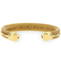 Kate Bissett Goldtone Cable Fashion Bracelet