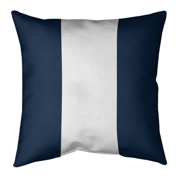 Tennessee Tennessee Football Stripes Pillow-Faux Suede