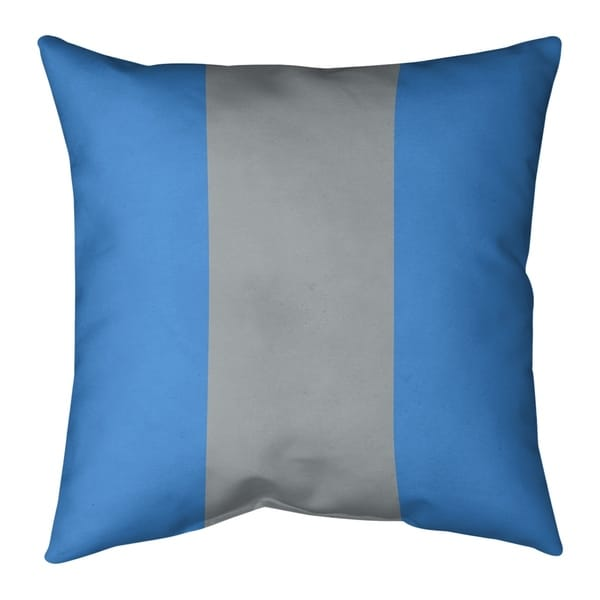 Tennessee Tennessee Football Stripes Pillow-Faux Linen