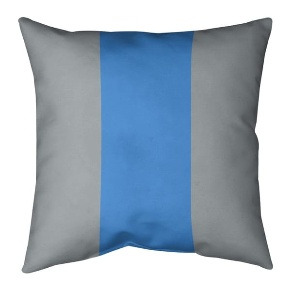 Tennessee Tennessee Football Stripes Pillow-Cotton Twill