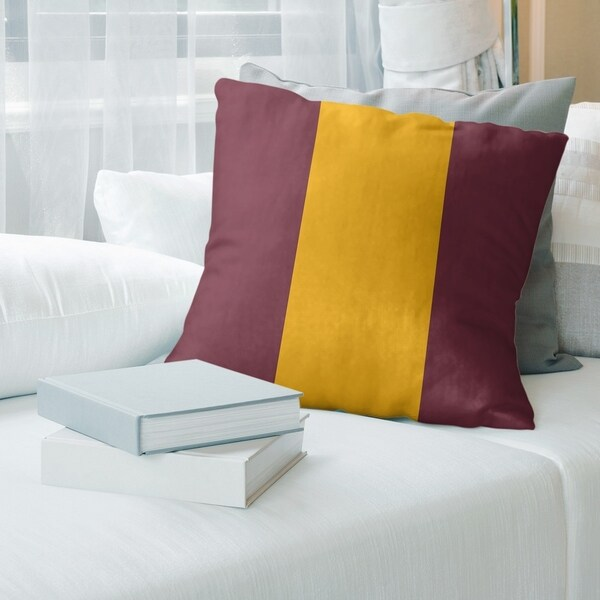 Washington Washington Football Stripes Floor Pillow - Standard