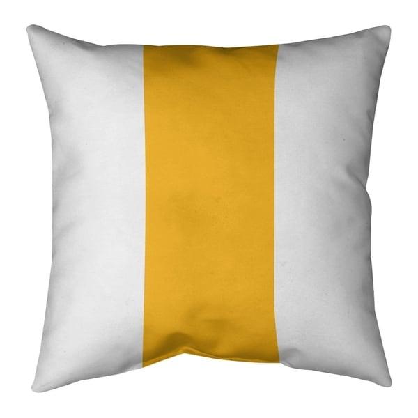 Washington Washington Football Stripes Pillow-Faux Suede