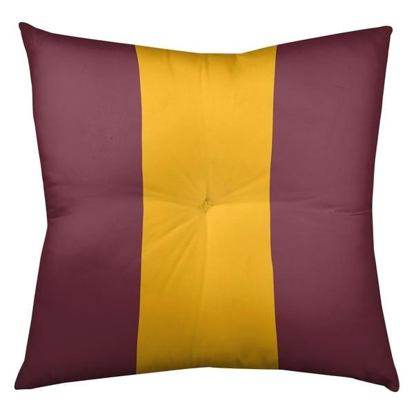 Washington Washington Football Stripes Floor Pillow - Square Tufted