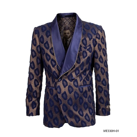 Empire Show Jacket Classic-Fit Shawl Collar Suit Jacket
