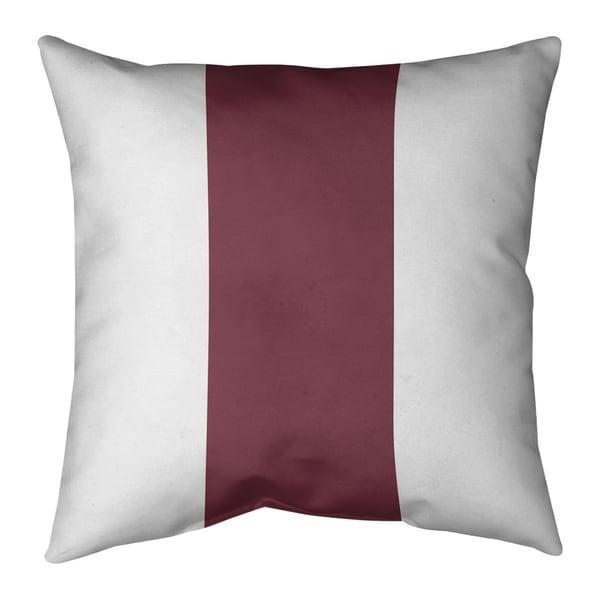 Washington Washington Football Stripes Pillow-Spun Polyester