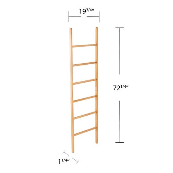 Porch & Den Blanston Freestanding Decorative Ladder Rack