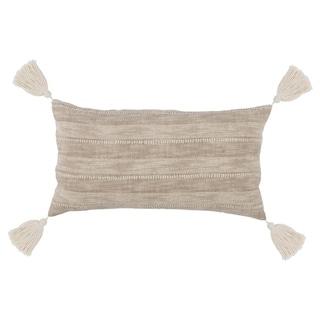 Kosas Home Moab 100% Cotton 14 x 26 Embroidered Throw Pillow
