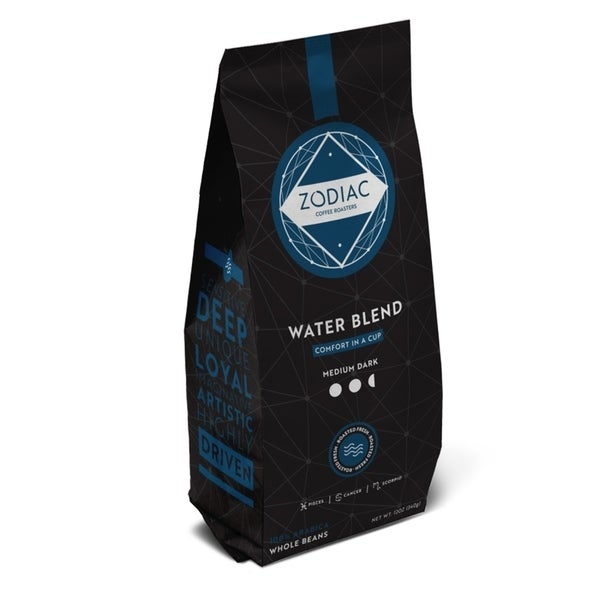 Zodiac Coffee 5lb Whole Bean Water Blend - 5lbs