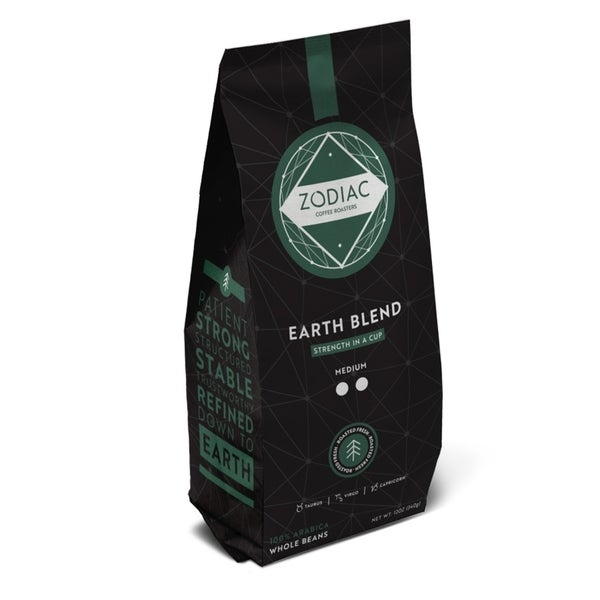 Zodiac Coffee 5lb Whole Bean Earth Blend - 5lbs