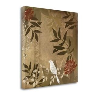"""Bird I"" By Jennifer Pugh, Fine Art Giclee Print on Gallery Wrap Canvas, Ready to Hang"