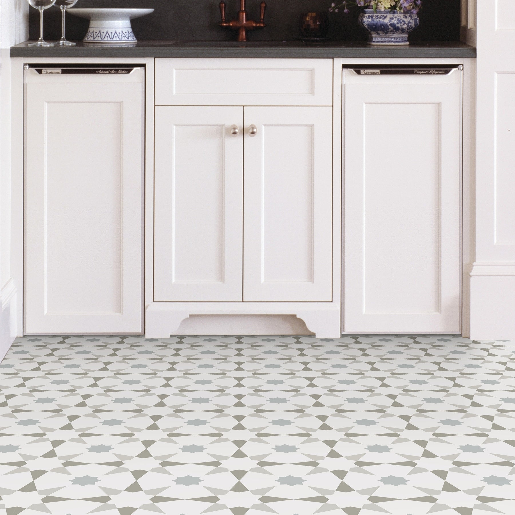 Garfield, Peel & Stick Stellar Floor Tiles