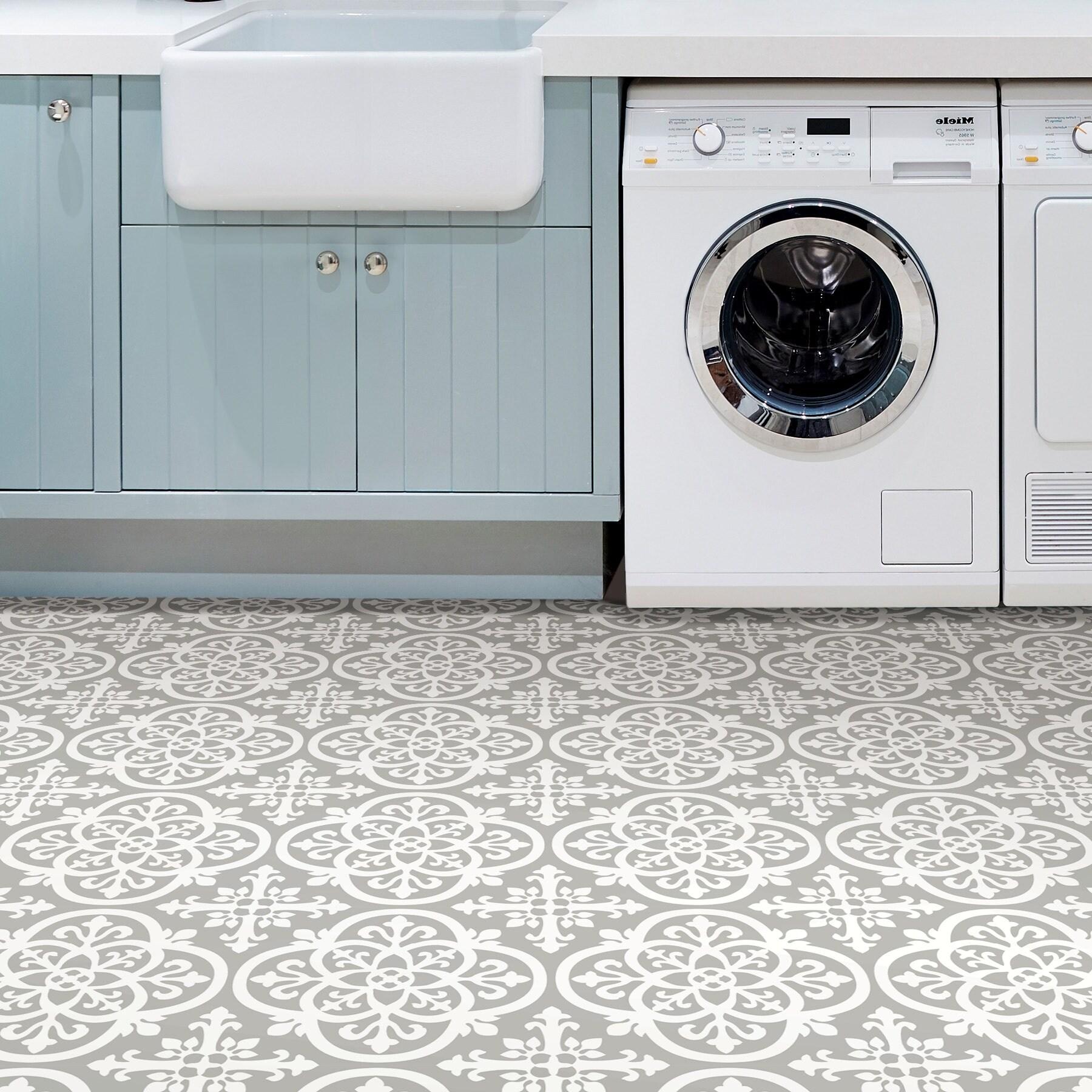 Tyler Peel Stick Medina Floor Tiles Overstock 30290819