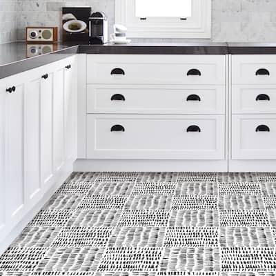 Fillmore, Peel & Stick Noleby Floor Tiles