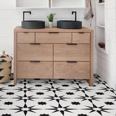 Lincoln, Peel & Stick Altair Floor Tiles