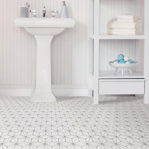 Monroe, Peel & Stick Kikko Floor Tiles