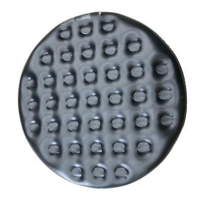 ALEKO Inflatable Round Insulator Black Top for 4-Person Inflatable Hot Tub - 55 x 55 x 7.8 inches