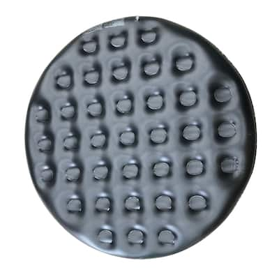ALEKO Inflatable Round Insulator Black Top for 6-Person Inflatable Hot Tub - 66 x 66 x 7.8 Inches