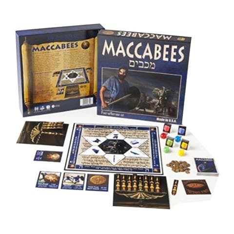 Maccabees Board Game - Universal & Secular in English and Hebrew