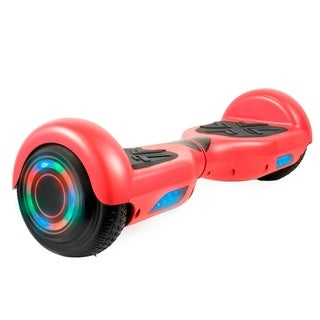 Hoverboard in Red with Bluetooth Speakers