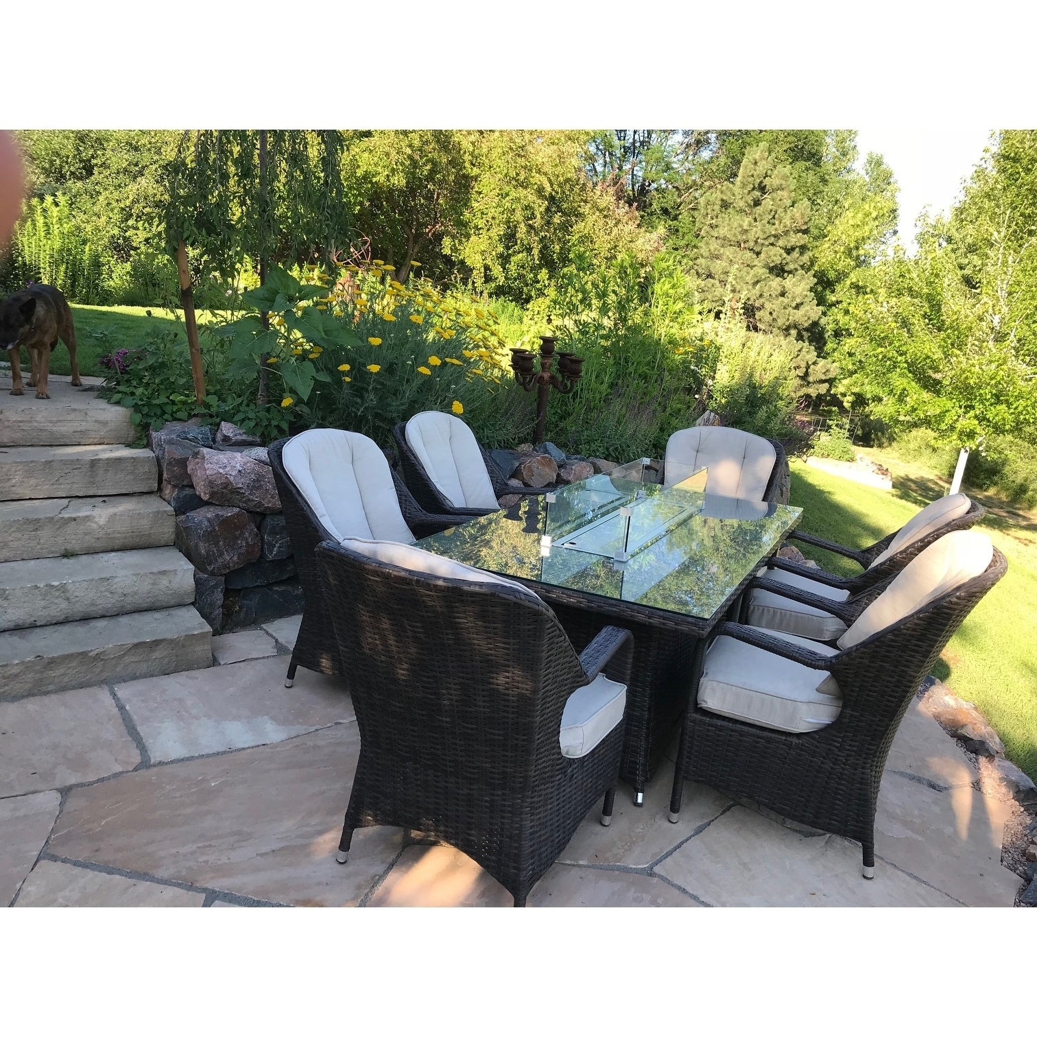 Turnbury Outdoor 7 Piece Patio