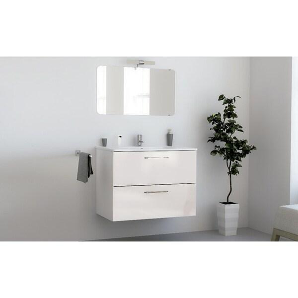 "Shop 32"" Happy Modern Bathroom Vanity / White / 32 x 24 x ..."