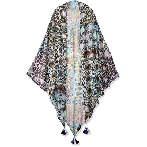 Laundry By Shelli Segal Women Fashion Lightweight Scarves Wrap Shawl