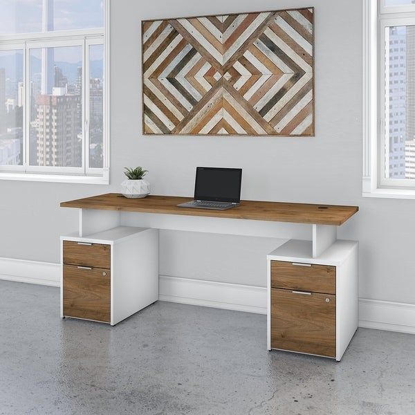 Jamestown 72W Desk with 4 Drawers by Bush Business Furniture