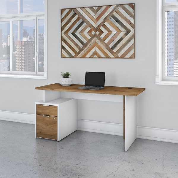 Jamestown 60W Desk with 2 Drawers by Bush Business Furniture