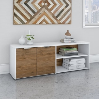 Jamestown Low Storage Cabinet with Doors by Bush Business Furniture
