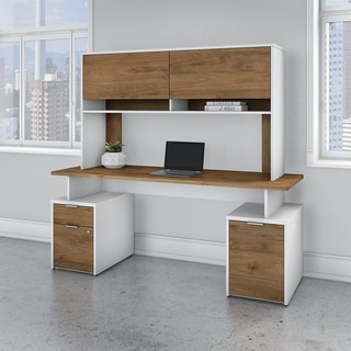 Jamestown 72W Desk with Storage and Hutch by Bush Business Furniture