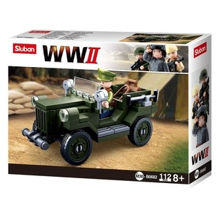 Link to Army Vehicle  Building Blocks WWII Series Building Toy Army Fighter Similar Items in Building Blocks & Sets