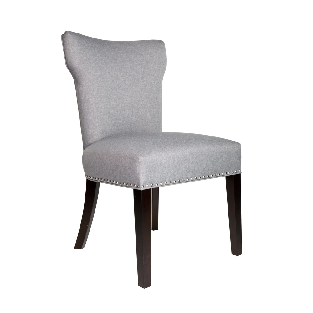 Upholstered Nailhead Dining Room Chair