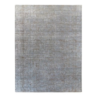 Kiara, Contemporary Hand-Knotted Area Rug - 9 x 12