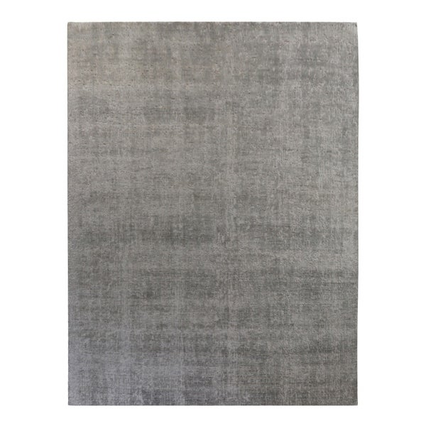 Reign , Contemporary Hand-Knotted Area Rug - 9 x 12