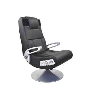 X Rocker Wireless Pedestal Gaming Chair - Black